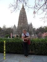 Sally south of stupa thumb