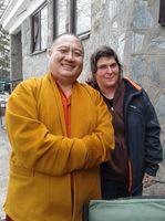 Shechen rabjam rinpoche and me thumb